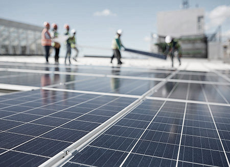 Сонячні електростанції для підприємств